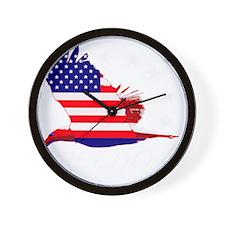 Freedom eagle 2 Wall Clock