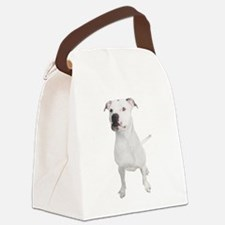 Cute American staffordshire terrier Canvas Lunch Bag