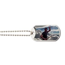 Escrima in the clouds Dog Tags