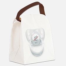 Mute Binky Canvas Lunch Bag