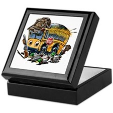 DUCK HUNTING schoolbus Keepsake Box