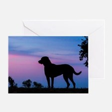 chessie profile Greeting Card