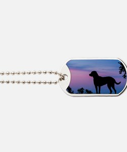 chessie profile Dog Tags