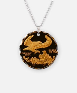 American Eagle Gold Proof 50 Necklace