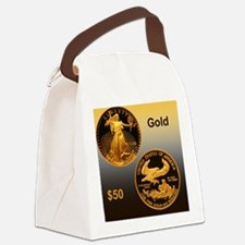 American Eagle Gold Proof 50 Doll Canvas Lunch Bag