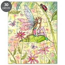 Spring Magic Fairy and Ladybug Puzzle