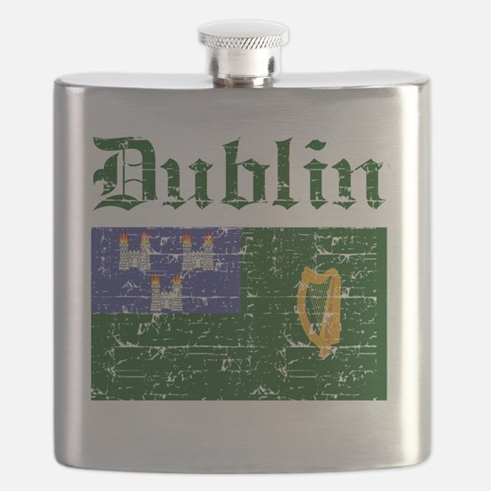 Dublin coat of arms Flask