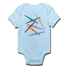 Colorful Oboes Infant Bodysuit