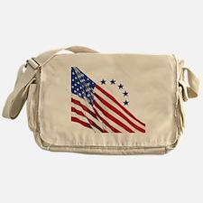 Old Glory Messenger Bag