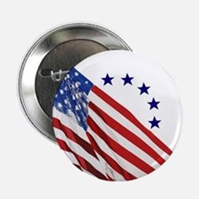"""Old Glory 2.25"""" Button"""