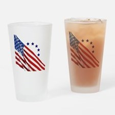 Old Glory Drinking Glass