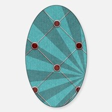 Blue Sticker (Oval)