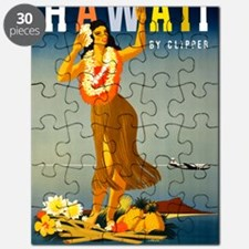 Vintage Hawaiian Travel Puzzle