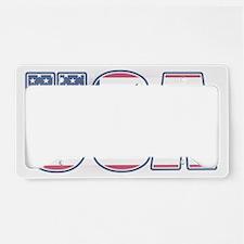 U.S.A. With Flag & Eagle License Plate Holder