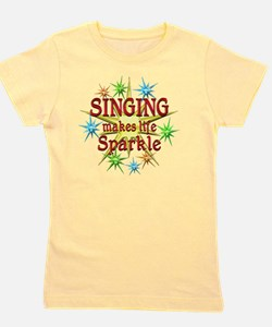 Singing Sparkles Girl's Tee