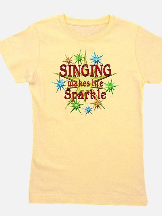 Singing Sparkles Girl's Tee