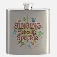 Singing Sparkles Flask