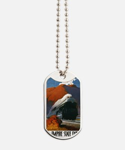 Empire State Express Railroad Travel Dog Tags