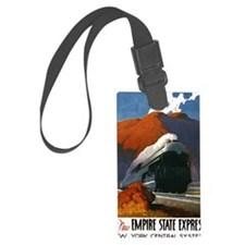 Empire State Express Railroad Tr Luggage Tag