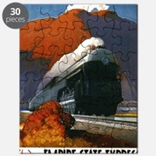 Empire State Express Railroad Travel Puzzle