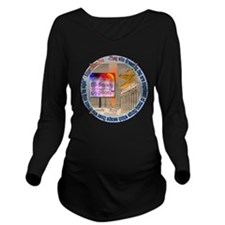 ISI-S circle Long Sleeve Maternity T-Shirt