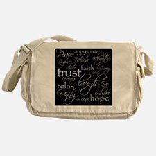 Positive Words - Shop Logo Messenger Bag