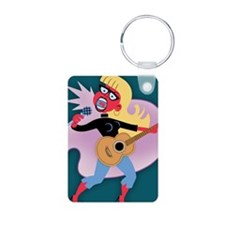 beat-mic-chick-CRD Keychains