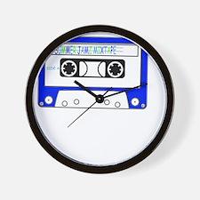 Summer Jamz Mixtape Wall Clock