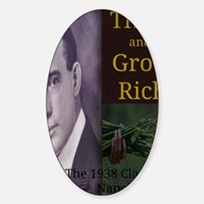 Think and Grow Rich Sticker (Oval)