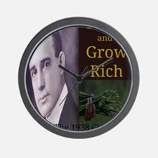 Think and Grow Rich Wall Clock