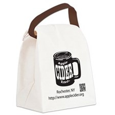 Logo w/out Apple Canvas Lunch Bag