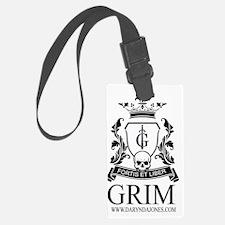 GRIM Luggage Tag