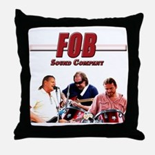 FOB Sound Company color t Throw Pillow