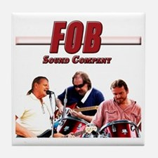 FOB Sound Company color t Tile Coaster