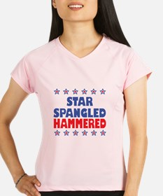 I'm Star Spangled Hammered Performance Dry T-Shirt