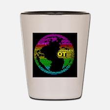 ONE WORLD OT LOVE Shot Glass