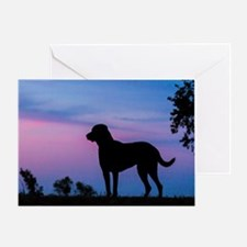 The Chessie Profile Greeting Card