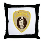 Compton College Throw Pillow