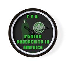 EPA  Ending Prosperity in America Wall Clock