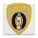 Compton College Tile Coaster