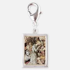 Goblin Market: precious gold Silver Portrait Charm