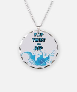 Flip, Twist and Rip Necklace