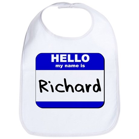 hello my name is richard Bib