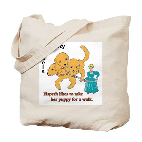 Elspeth's Puppy Tote Bag