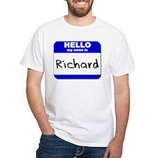 hello my name is richard Shirt