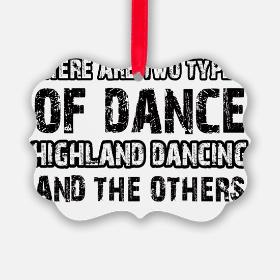 Scottish Highland dancing designs Ornament