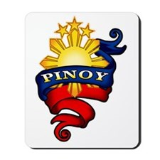 Pinoy Coat of Arms Mousepad