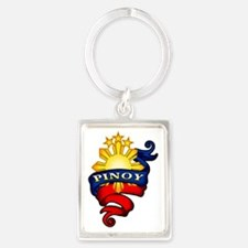 Pinoy Coat of Arms Portrait Keychain