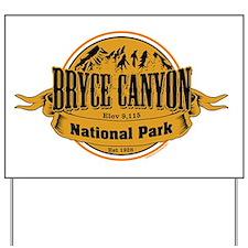 bryce canyon 2 Yard Sign