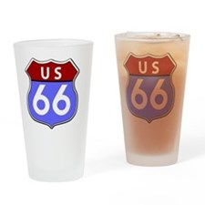 Route 66 Legendary Drinking Glass